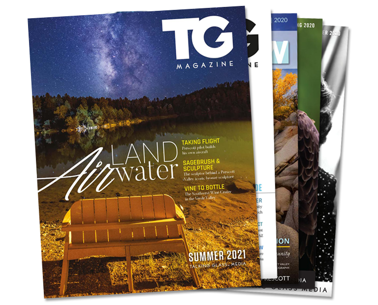 Talking Glass Magazine Covers